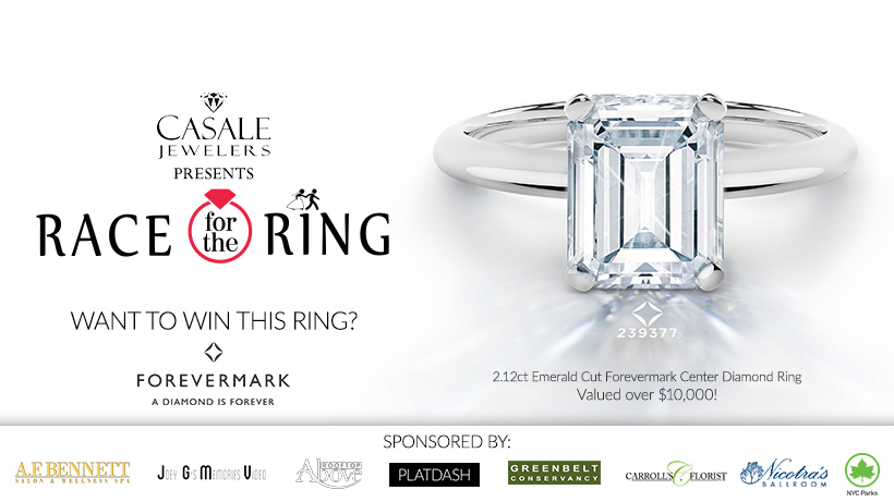 Race for the Forevermark Diamond Engagement Ring