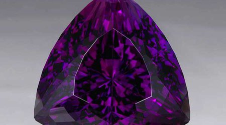 Birthstone Feature: 78.3-Carat Gem Is Smithsonian's First Amethyst From Rwanda