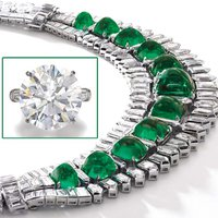 Socialite's Emerald Necklace, 36-Carat Diamond Share Spotlight at Christie's Geneva
