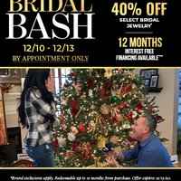 "Holiday Bridal Bash and Snow Fall Event... 5"" of Snow = Free Engagement Ring"