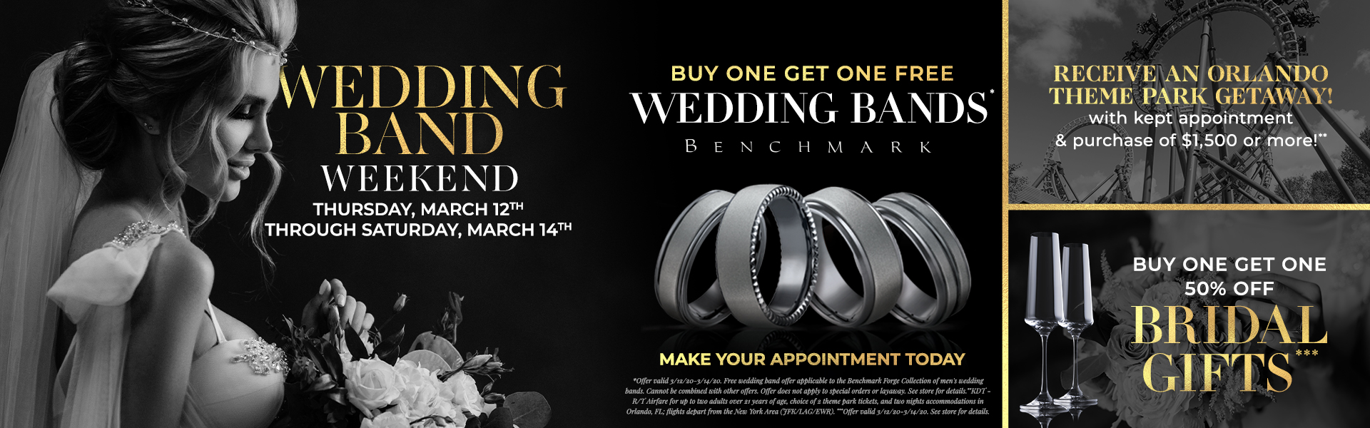 Casale Wedding Band Weekend Web Banner