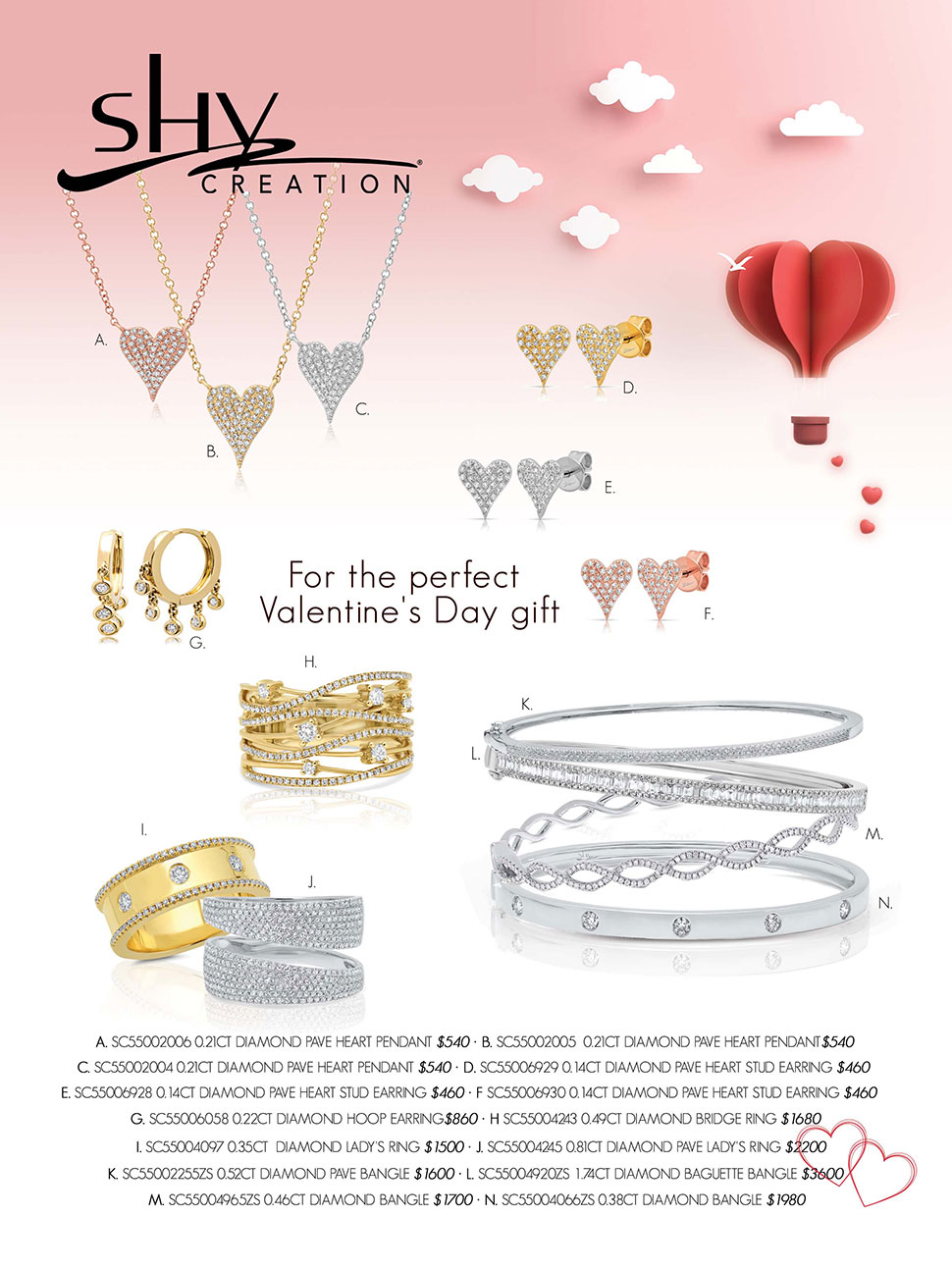 CATALOG PAGES Shy Creation For Print Valentines Day Mailer 2 1 10 18 P